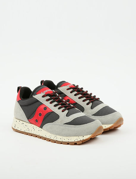 Saucony Wmns Jazz Trail 'Grey/Black/Red'