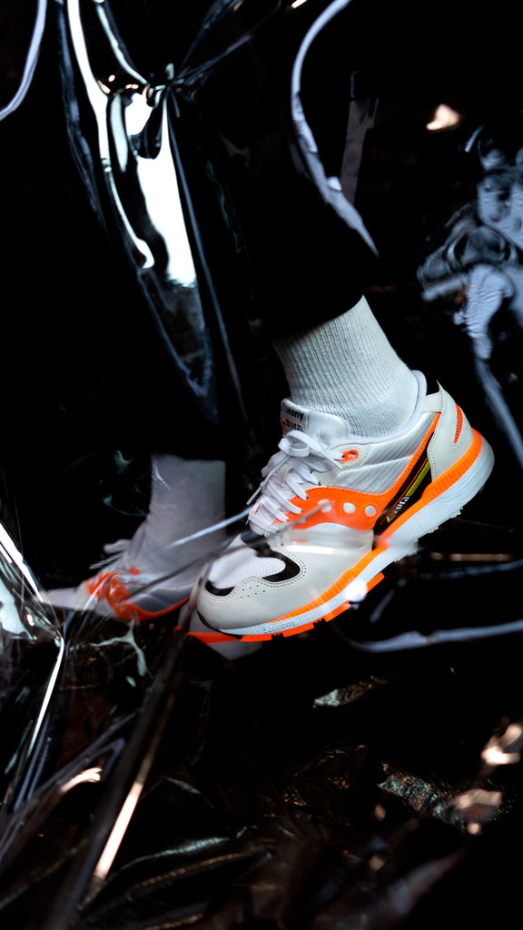Saucony Azura OG 'White/Orange'