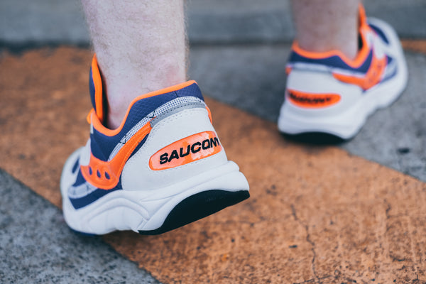 Saucony AYA 'white/purple/orange'