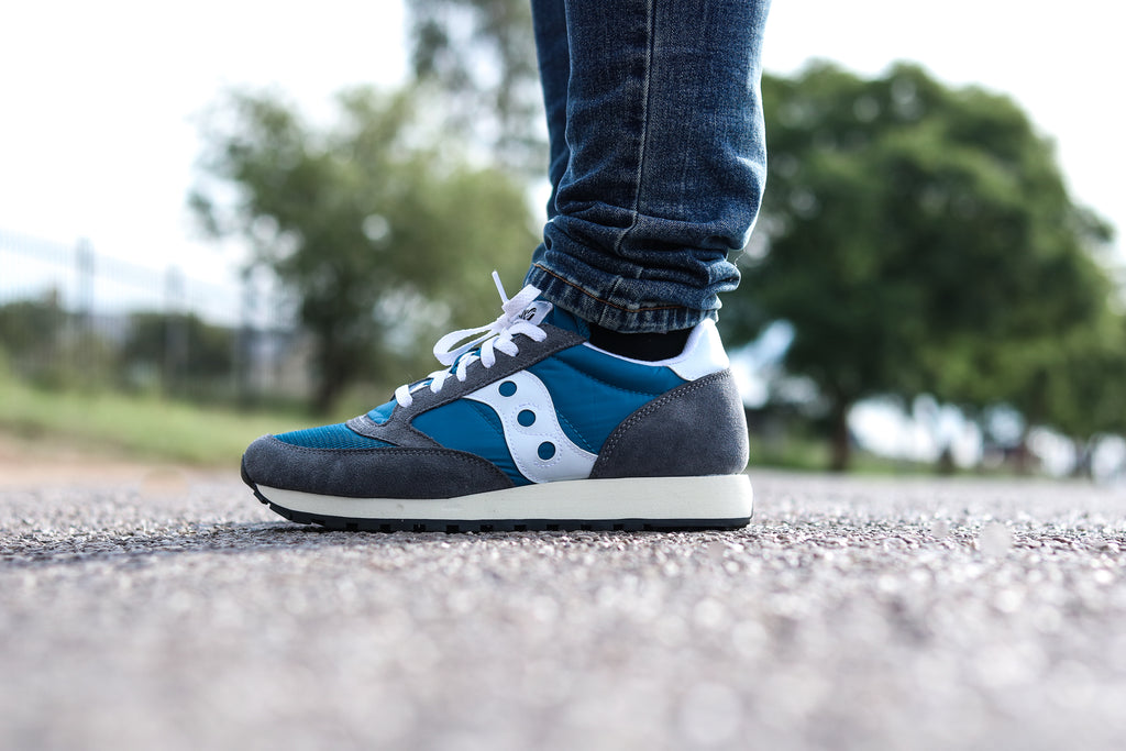 Saucony Jazz Original Vintage 'Grey/Blue/White'
