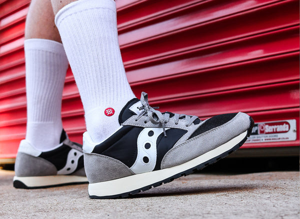 Saucony Jazz Original Vintage 'Black/White/Grey'