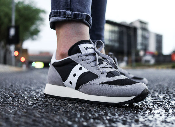 Saucony Jazz Original Vintage Women's 'Black/White/Grey'