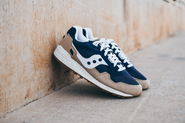 Saucony Shadow 5000 'Tan/Navy/White'