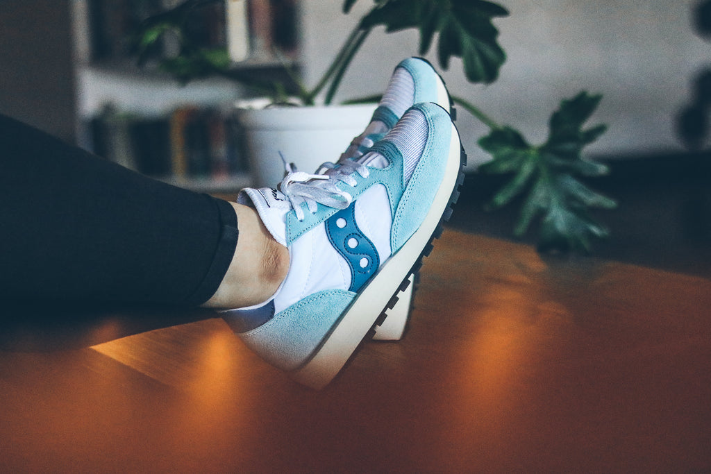 Saucony Jazz WMNs Original 'White/Blue'