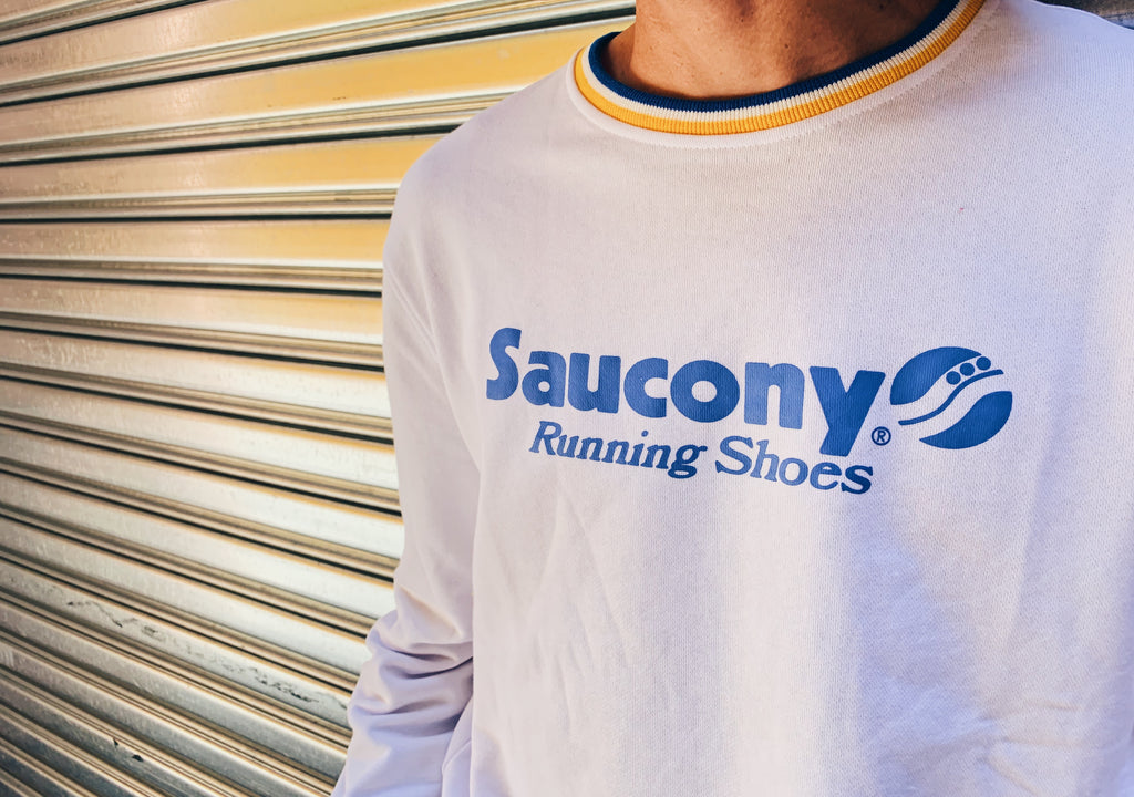 Saucony Originals Logo Sweater 'Azura'