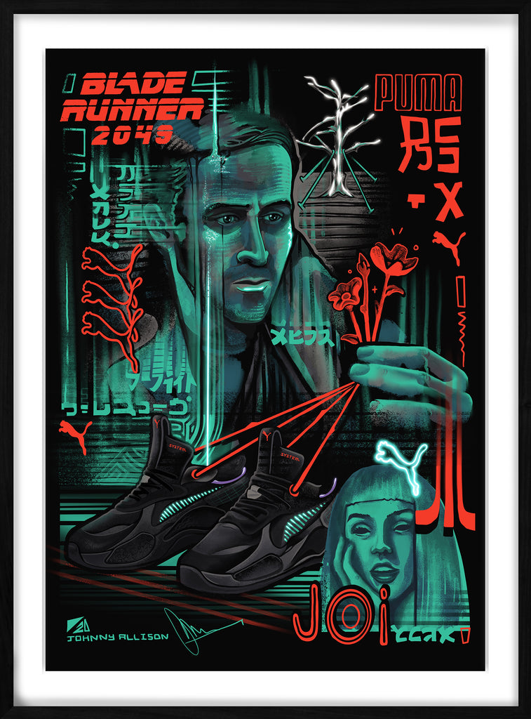 PUMA RS-X Bladerunner by Johnny Allison