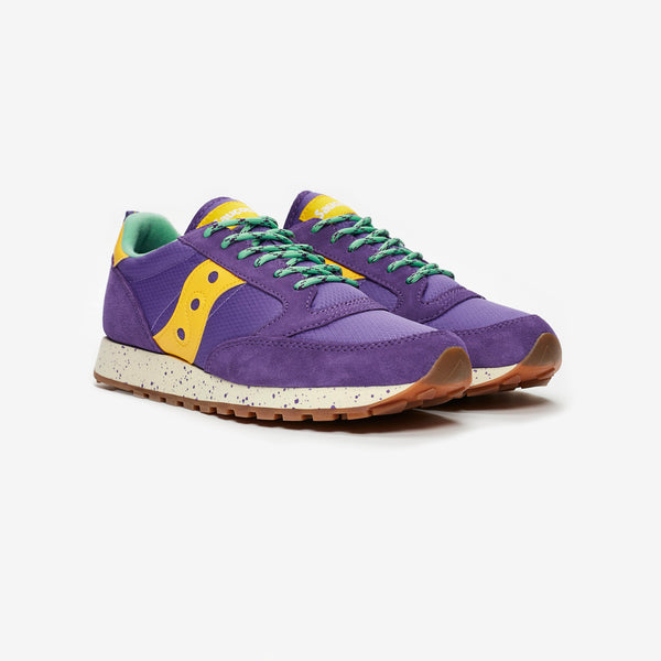 Saucony Jazz Trail 'Purple/Yellow'