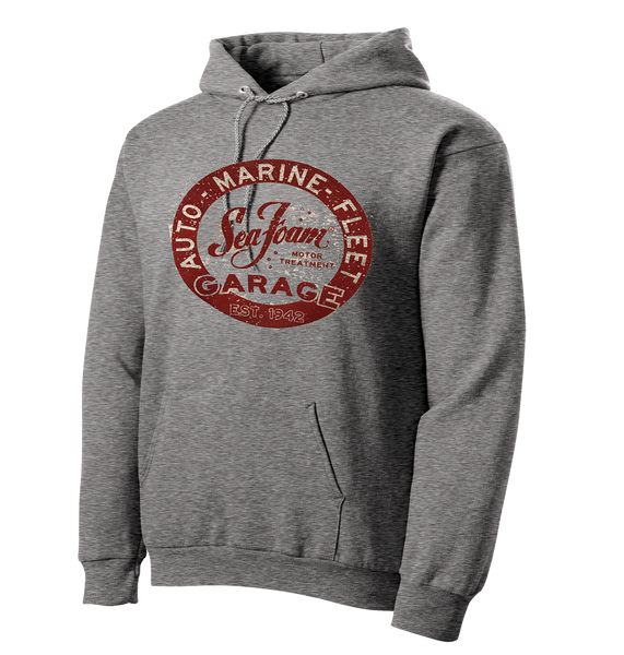 NEW DESIGN! Sea Foam Garage Hoodie