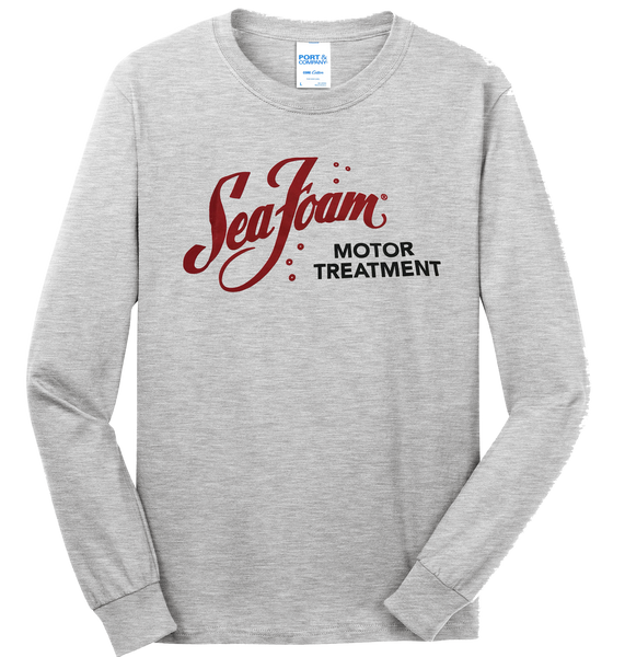 Sea Foam Logo Long Sleeve T-shirt