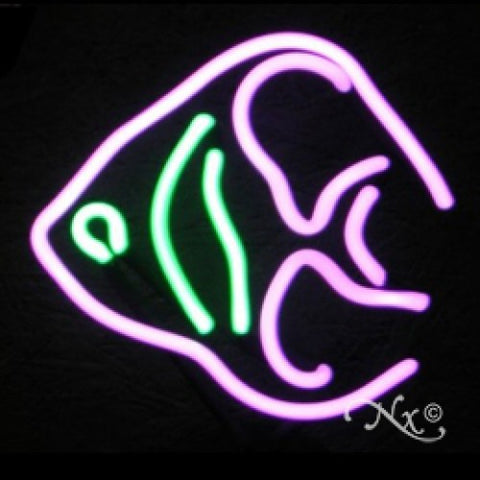 Neon Sculpture angel fish