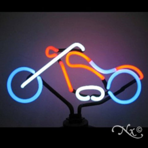 Neon Sculpture chopper