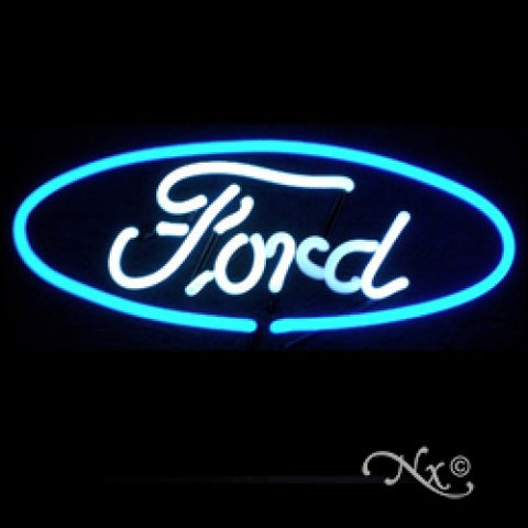 Neon Sculpture FORD