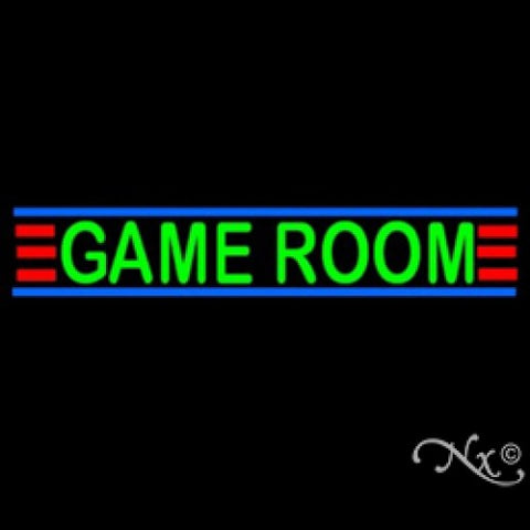 Neon Sculpture game room