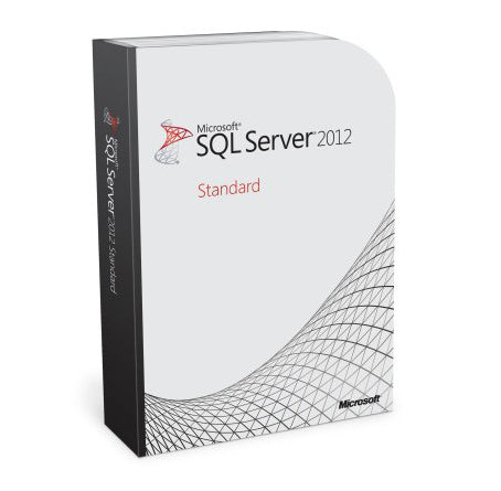 microsoft sql server standard 2012 instant license