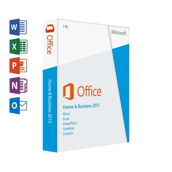 Microsoft Office 2013 Home and Business Instant Download 32/64 bit