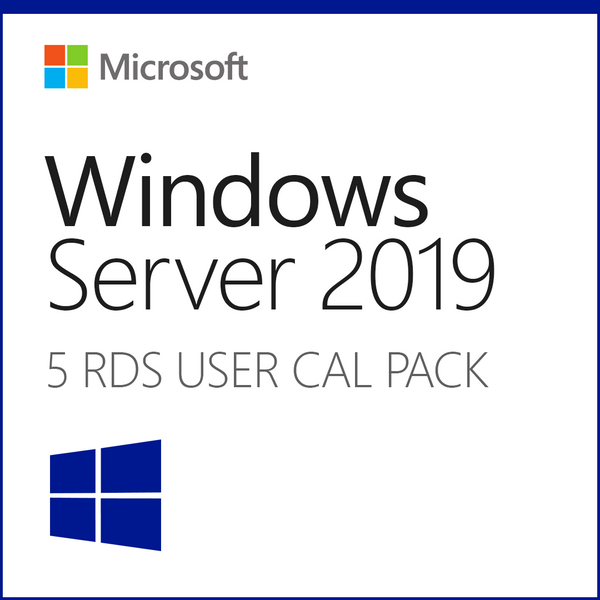 Microsoft Windows Server 2019 Remote Desktop - 5 User CAL