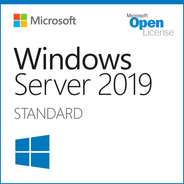 Windows Server 2019 Standard 16 Core Open License Trusted Tech Team