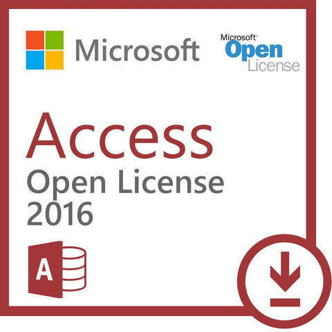 microsoft access 2016 open license