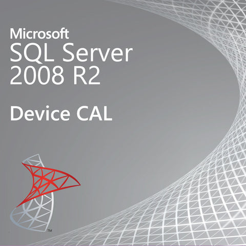 microsoft sql server 2008 r2 device cal license