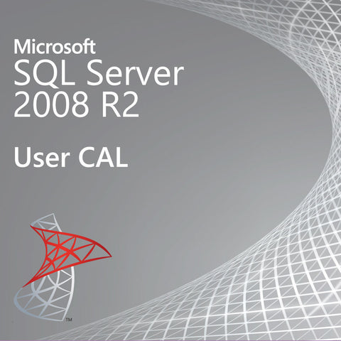 microsoft sql server 2008 r2 user cal license