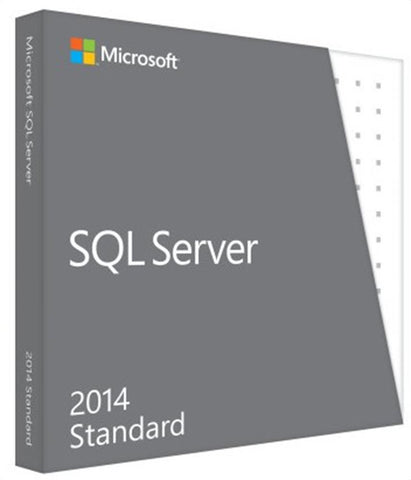 microsoft sql server standard 2014 5 cals instant license