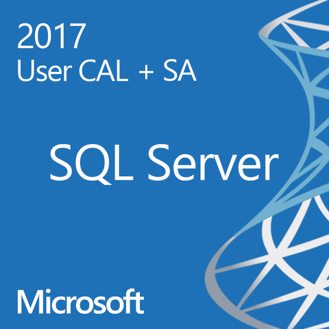 Microsoft SQL Server 2017 Standard User CAL Open License Software Assurance