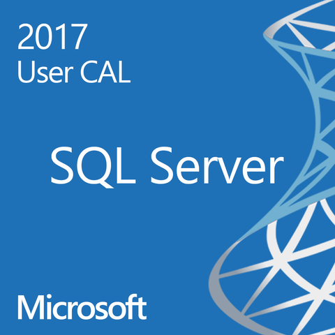 Microsoft SQL Server 2017 Standard User CAL Open License