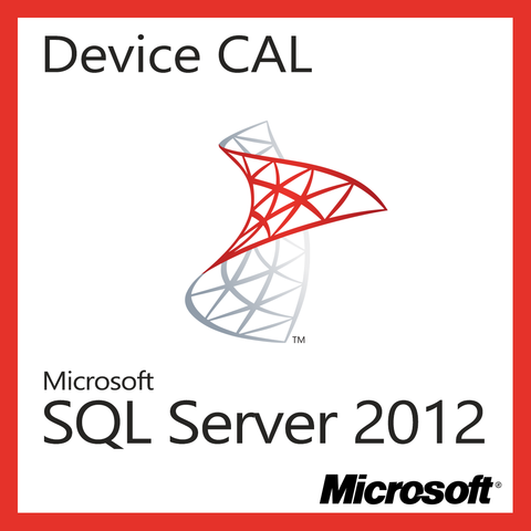 microsoft sql server 2012 device cal license