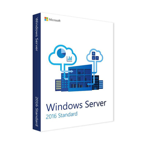windows server 2016 standard oei dvd 16 core instant license