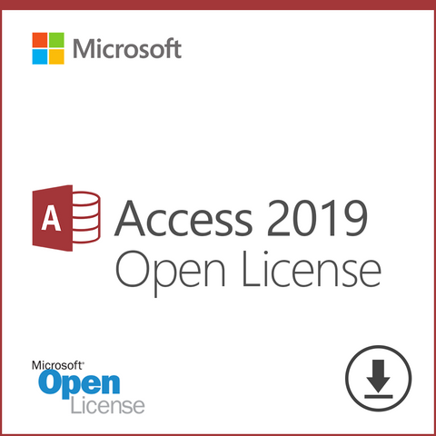 Microsoft Access 2019 Standalone Download Open License