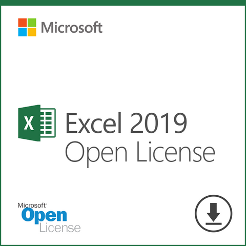 Microsoft Excel 2019 Open License Download