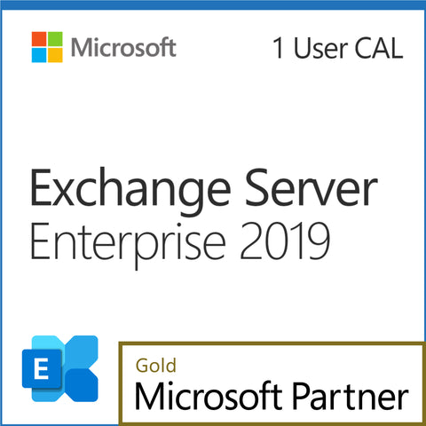 Microsoft Exchange Server 2019 Enterprise 1 User CAL Elite Pricing