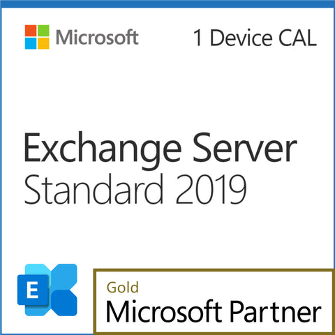Microsoft Exchange Server 2019 Standard 1 Device CAL Elite Pricing