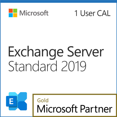Microsoft Exchange Server 2019 Standard 1 User CAL Elite Pricing