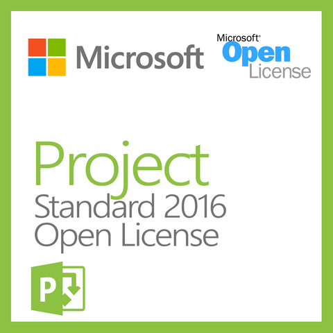 microsoft project 2016 open license