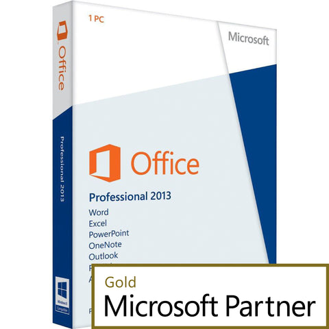 microsoft office professional 2013 1 pc license