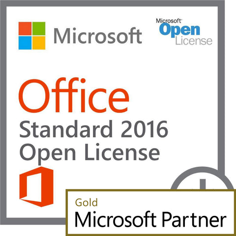 microsoft office 2016 standard open license