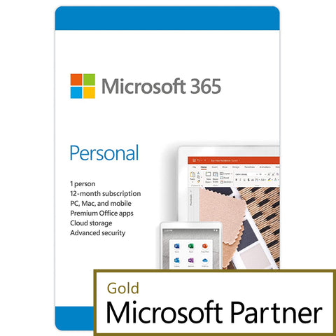 microsoft office 365 personal 1 year pc mac elite