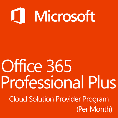 Microsoft Office 365 Professional Plus Open License CSP 1 Month