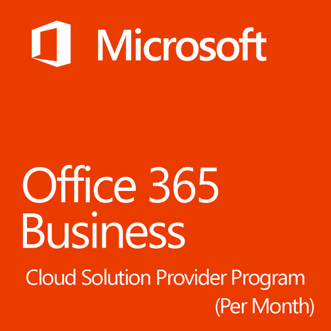Microsoft Office 365 Business CSP Cloud Service Provider Program 1 Month