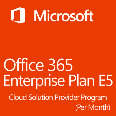 Microsoft Office 365 CSP Enterprise E5 License 1 Month
