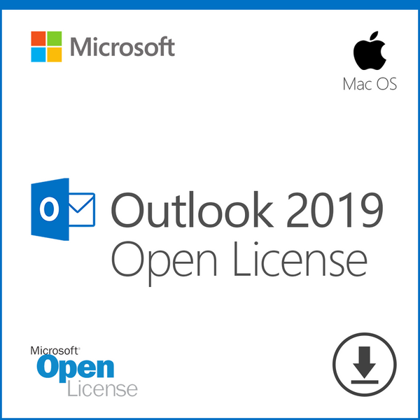 Microsoft Outlook 2019 for Mac - Open License