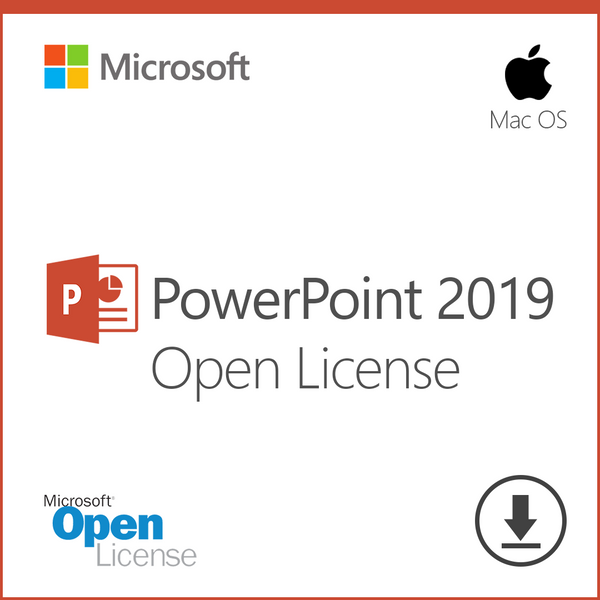 Microsoft PowerPoint 2019 for Mac - Open License