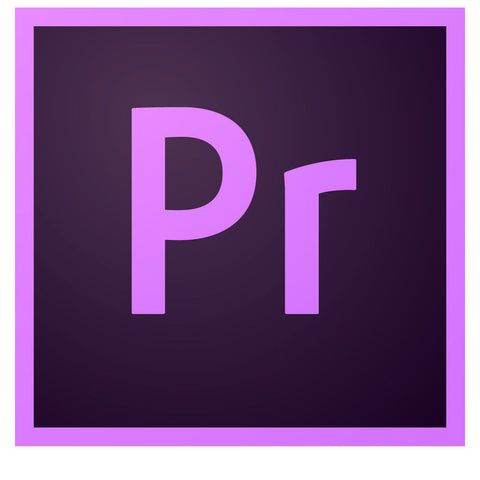 Adobe Premiere Pro CC - 1 Year Subscription