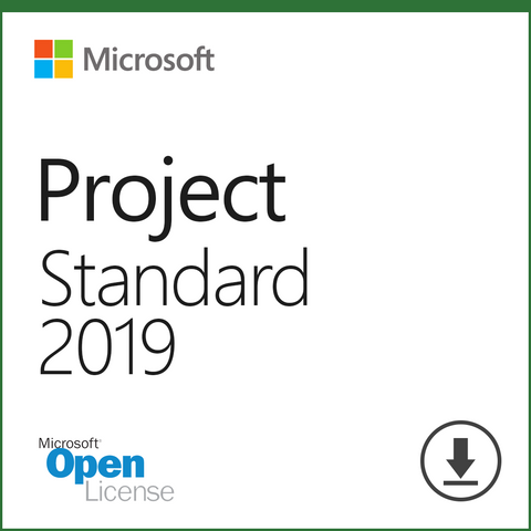 Microsoft Project 2019 Standard Download Open License