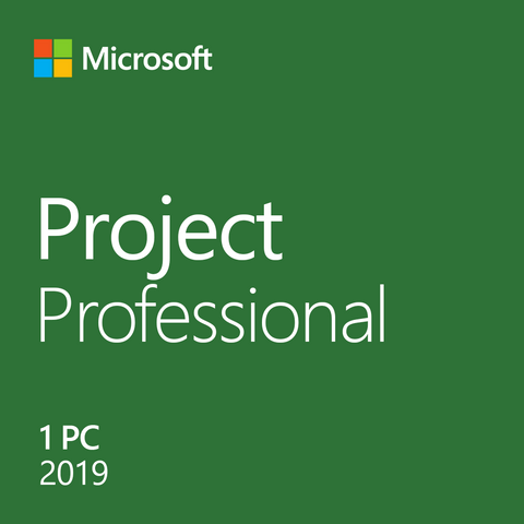Microsoft Project Professional 2019 License
