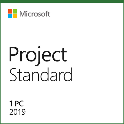 Microsoft Project Standard 2019 License
