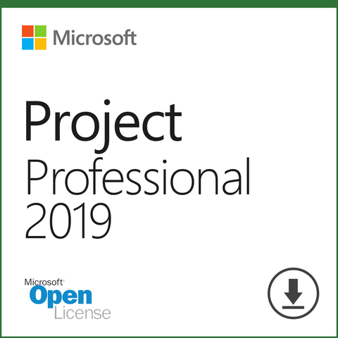 Microsoft Project 2019 Professional Open License Download