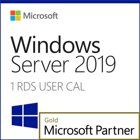 Microsoft Windows Server 2019 1 RDS User CAL