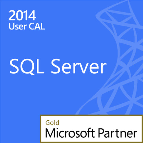 microsoft sql server standard 2014 1 user cal